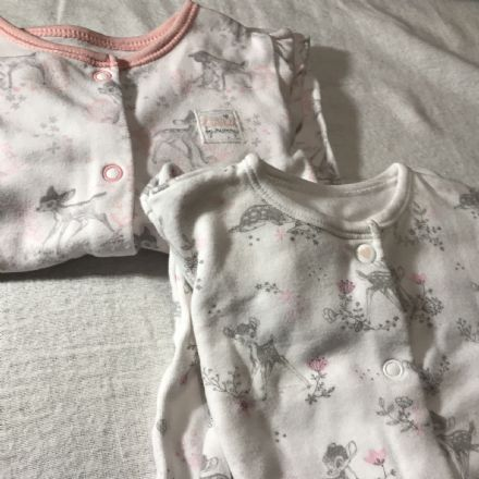 0-0 First Size Bambi Sleepsuits & Hats